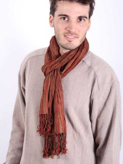Bufanda Hombre Casual Importada 60 X 200cm #3226