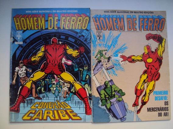 Homem De Ferro - Mini-serie - 4 Edições - Editora Abril