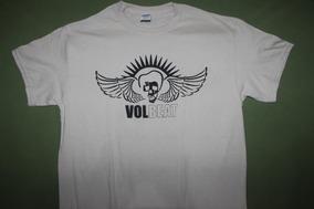 Gusanobass Playera Rock Metal Volbeat Punk Arena Med