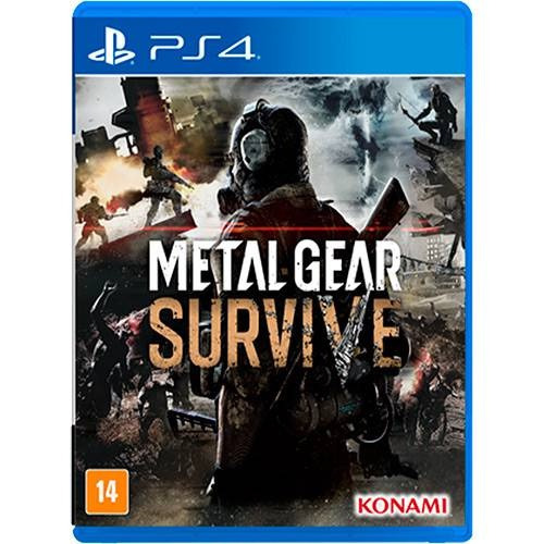 Metal Gear Survive - Ps4 - Mídia Física - Novo