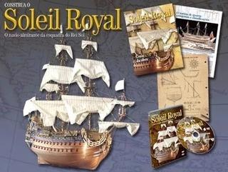 Coleção Construa Navio Soleil Royal - Edições 1, 5, 53