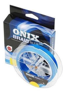 Linha Pesca Multifilamento Onix Braid Blue 0,28mm/28lb 150m