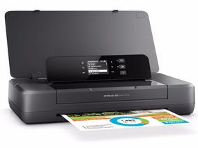 Impressora Jato De Tinta Color Hp - Oj 200 Mobile Portatil