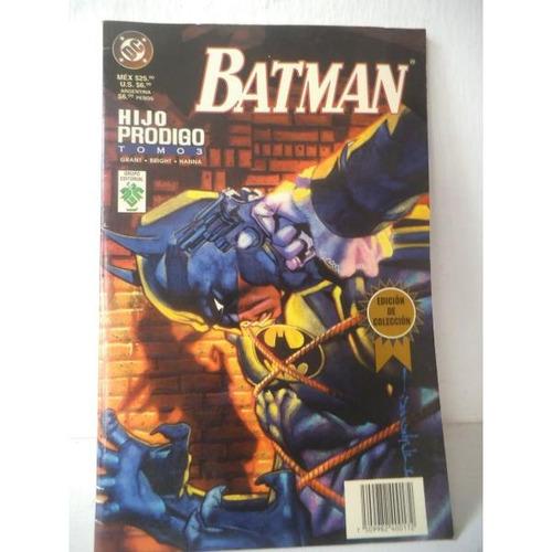Batman Hijo Prodigo Tomo 3 Editorial Vid