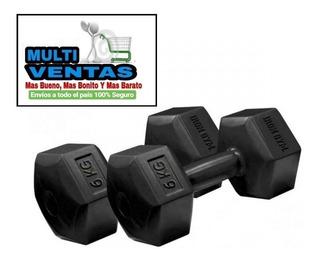 Pesas 6 Kg X 2 Iron Gym Original Multi-ventas