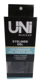 Delineador Em Gel Uni Makeup + Molde Delineador Gatinho