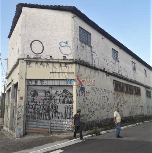 Imagem 1 de 19 de Galpão, 1612 M² - Venda Por R$ 2.800.000,00 Ou Aluguel Por R$ 20.000,00/mês - Vila Formosa - São Paulo/sp - Ga0212