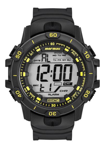 Relógio Digital Mormaii Action Prata Mo3690aa/8y