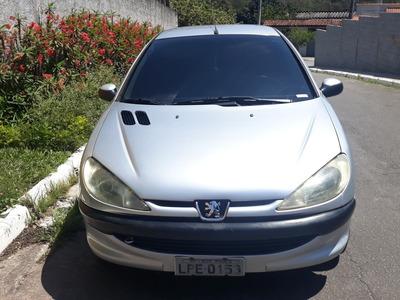 Peugeot 206 1.0 16v Ano 2004