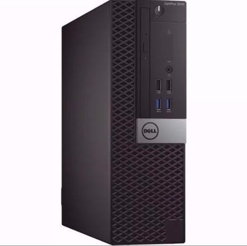 Imagem 1 de 1 de Computador Dell 3040 3.2ghz 8gb 1tb Win 10 Hdmi Dvdrw
