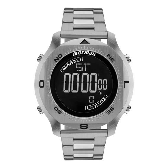 Relógio Mormaii Mo11273c1p Cinza {tamanho}
