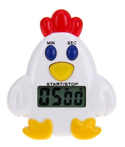 Timmer Reloj Minutero De Cocina Digital Magnetico