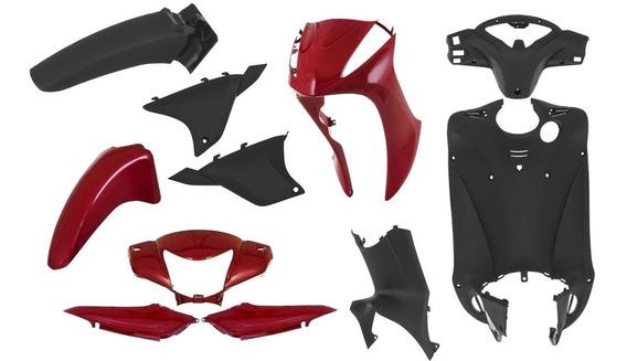 Kit Biz Frontal + Injetados Honda Biz 125 2011 À 13 Completo