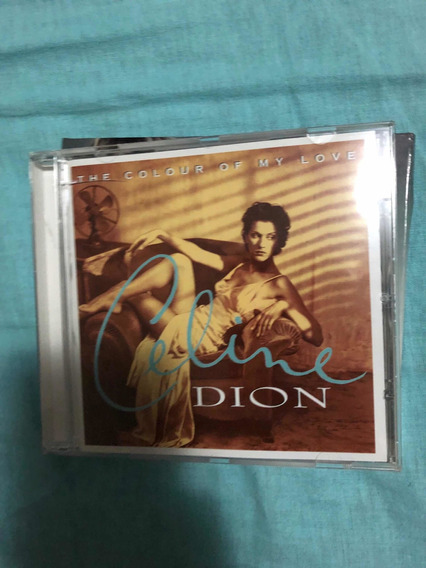 Cd Celine Dion - The Colour Of My Love