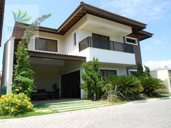 Duplex De Luxo Em Condomínio Fechado No Bairro Edson Queiroz. - Ca0537