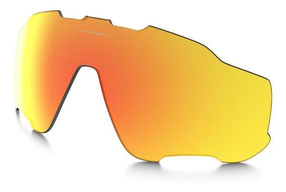 Lente Oakley Jaw Breaker 9290 (fire Iridium Polarized)