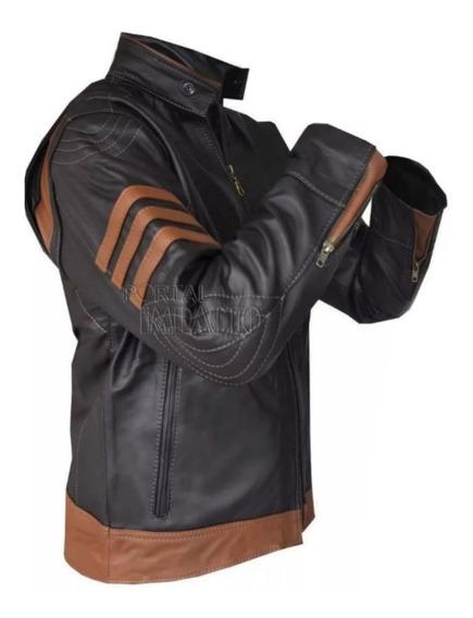Jaqueta Wolverine Blusa Couro Legítimo Masculina