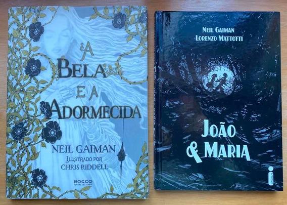 Livro João E Maria E Livro A Bela E A Adormecida Capa Dura