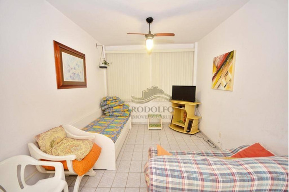 Apartamento A Venda Guarujá Pitangueiras Com Vaga Demarcada No Predio. - Ap0968