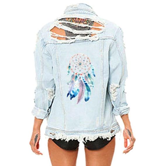 Fashionable Diy 3d Dreamcatcher Padrão T - Camisa Imprensa