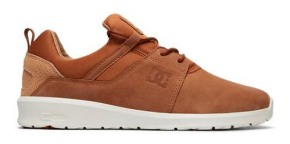 Tênis Dc Shoes Heathrow Le Imp Caramel