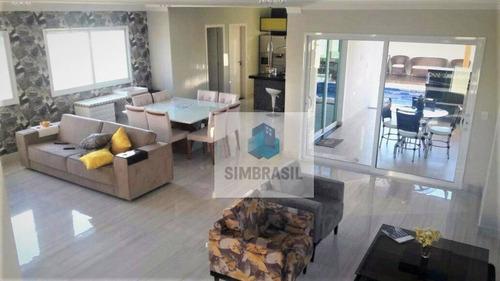 Imagem 1 de 12 de Casa De Condomínio Vila Dos Plátanos - Ca0810