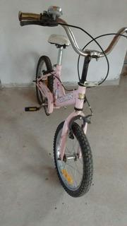 Bicicleta Rodado 16 Rosa