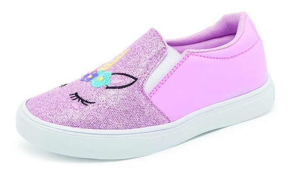 Slip-on Urbano Gube 212 Para Niña En Color Rosa
