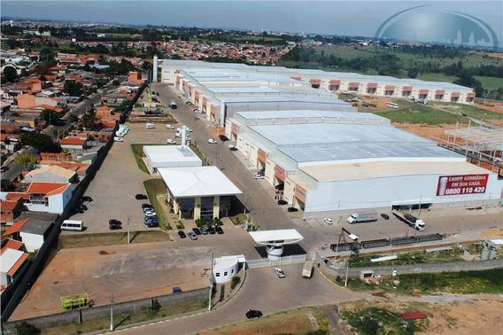 Galpão Industrial Para Locação, Jardim São Pedro, Hortolândia. - Ga0074