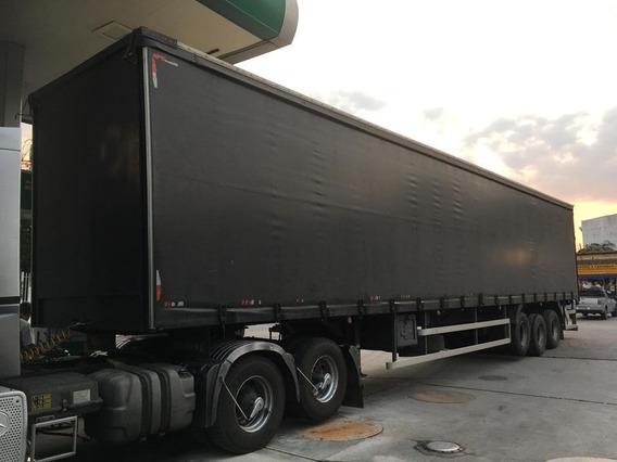 Semi Reboque Sider Guerra 14/14 Preto Gustavo-caminhões