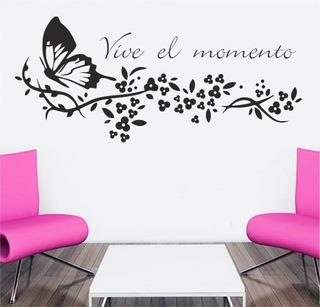 Vinilo Con Mariposas Y Frase En Mercado Libre Argentina
