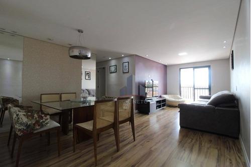 Imagem 1 de 25 de Apartamento Com 3 Dormitórios Sendo 1 Suíte  À Venda, 105 M² Por R$ 530.000 - Vila Bocaina - Mauá/sp - Ap1174