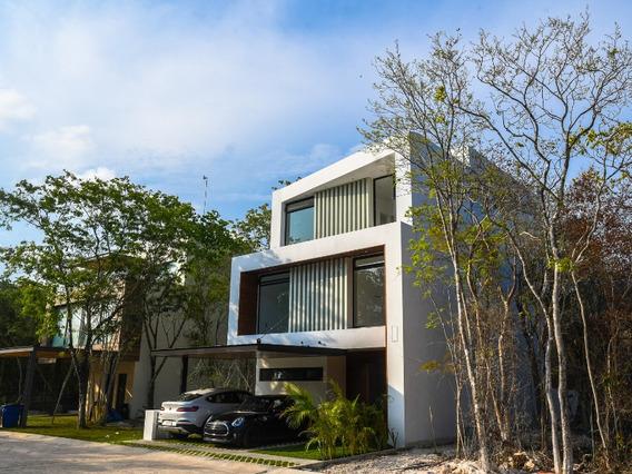 Casa Con Alberca Propia,playa Del Carmen. Senderos Mayakoba