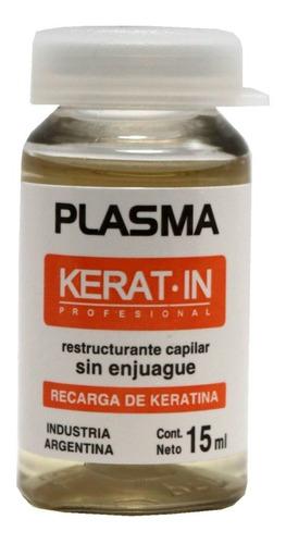 Ampollas Kerat-in Plasma Tratamiento Pelo Restructurante X1