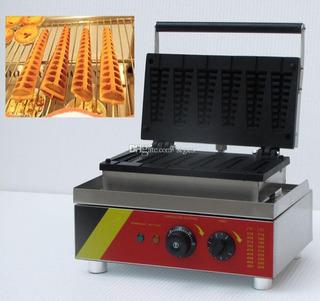 Waflera Waffle Belga 6 Conos Industrial Nueva 110v