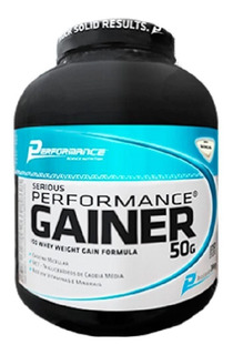 Serious Performance Gainer (3000g) - Performance Nutrition