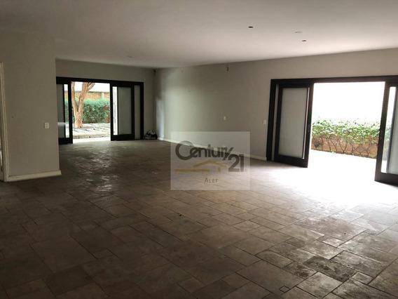 Casa Com 4 Dormitórios Para Alugar, 400 M² Por R$ 10.000,00/mês - Alto De Pinheiros - São Paulo/sp - Ca0032
