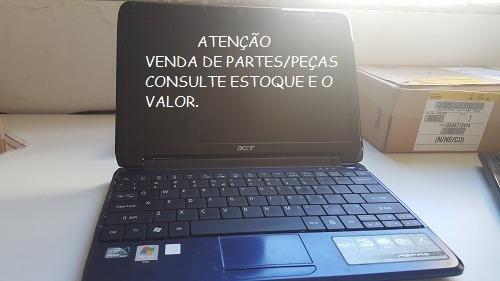 Netbook Acer -aspire One -za3 -tampa Azul - Venda De Peças