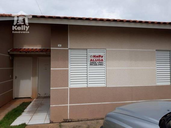 Casa Residencial Para Locação, Residencial Vista Do Vale, Presidente Prudente. - Ca0136