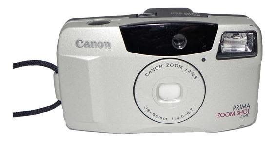 Câmera Fotográfica Canon Prima Zoom Shot Ai Af No Estado