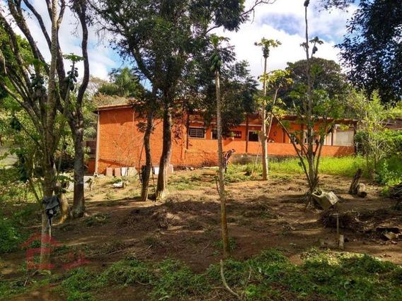 Chácara Com 2 Dormitórios Para Alugar, 1250 M² Por R$ 2.800/mês - Das Brotas - Cotia/sp - Ch0072