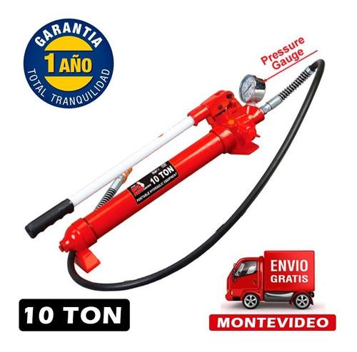 Gato Carrocero Bomba Hidraulica Manual 10 Toneladas Torin