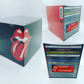 Box Rolling Stones Discografia 1976-2005 Original