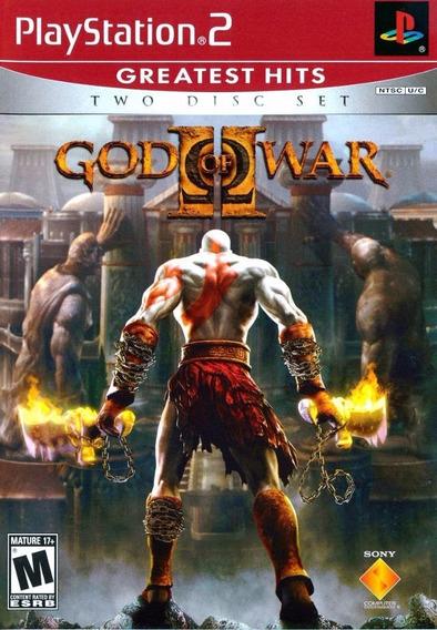 Promoção God Of War 2 Ps2 2 Discos Frete 13,00 Carta A8389