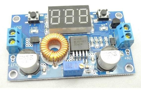 Regulador De Voltagem Dc-dc 5a 75w Com Voltímetro Step Down
