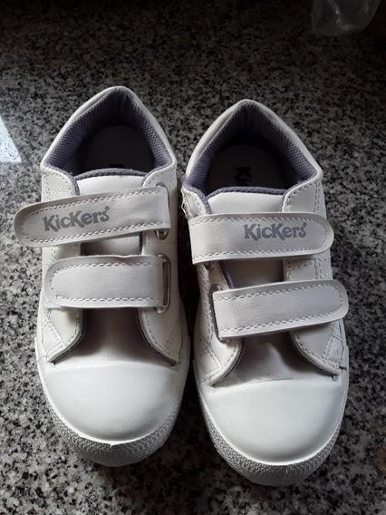 Zapatillas Kickers,ecocuero,escolar