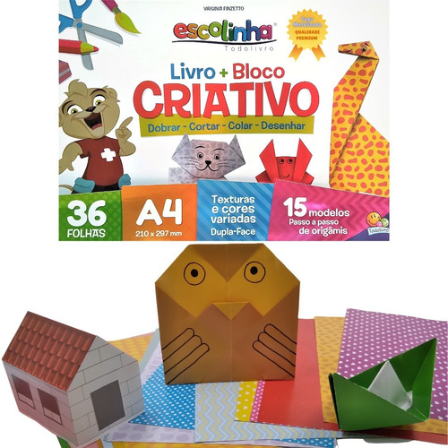 Livro P/ Educação Infantil Aula De Artes Dobraduras De Papel