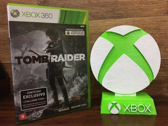 Tomb Raider Xbox 360 Mídia Física Legendado Em Português