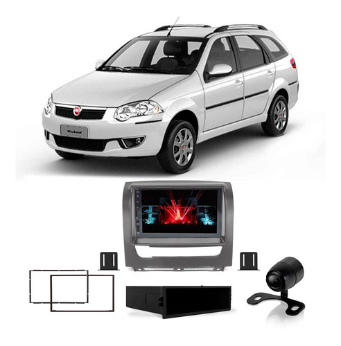 Multimidia Fiat Palio Weekend 2012 A 2019 7 Pol Esp Fm Bt Sd