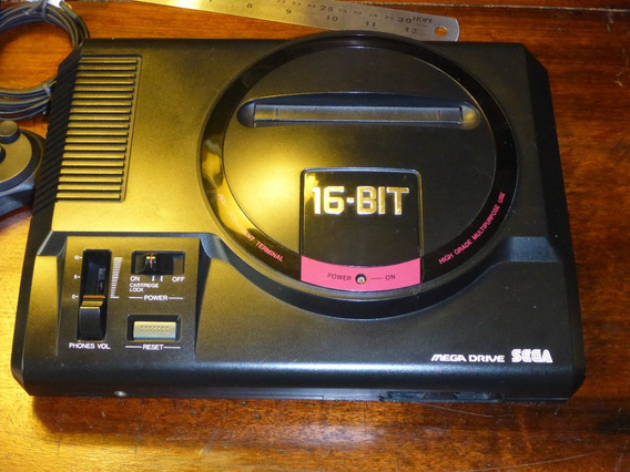Mega Drive Sega 16 Bit Importado + 11 Jogos